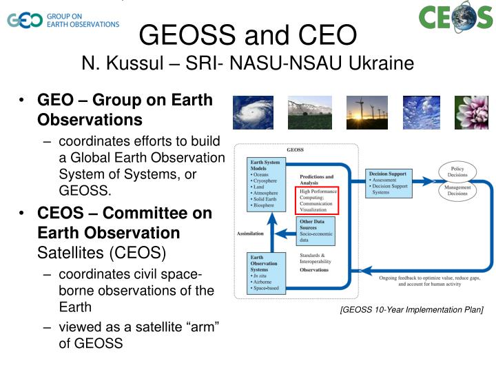 GEO – Group on Earth Observations