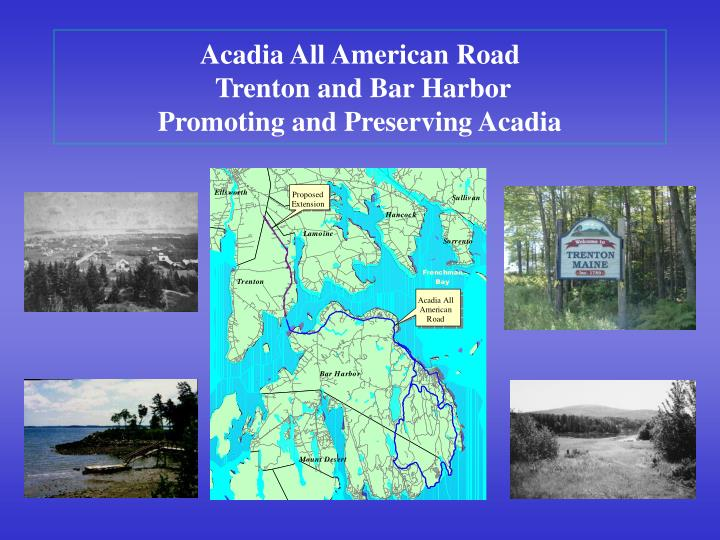 Acadia All American Road
