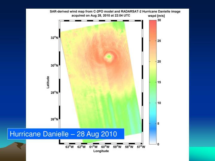 Hurricane Danielle – 28 Aug 2010