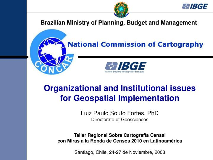 Brazilian Ministry of Planning, Budget and Management