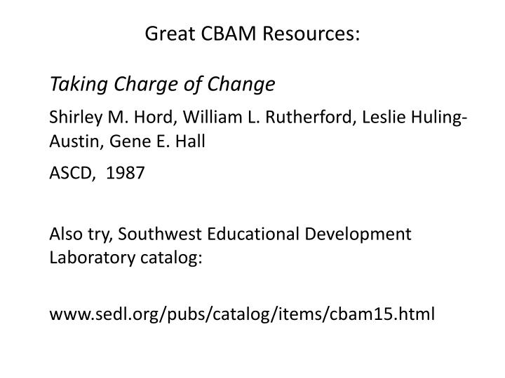 Great CBAM Resources:
