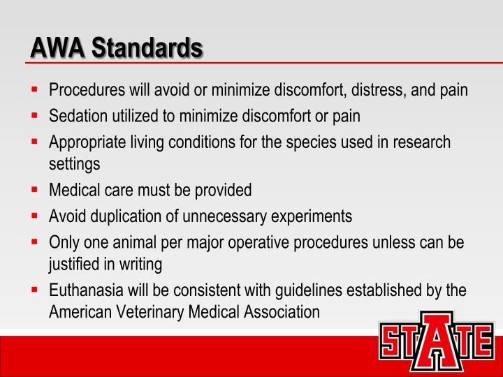 AWA Standards
