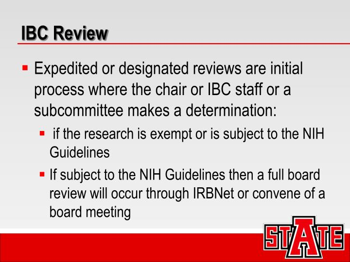 IBC Review