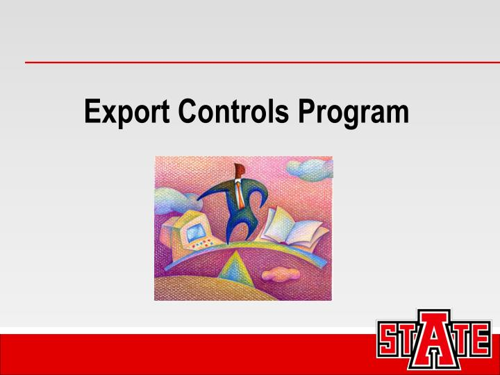 Export Controls Program
