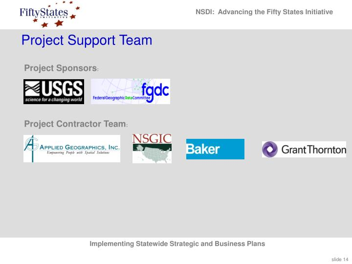 Project Support Team