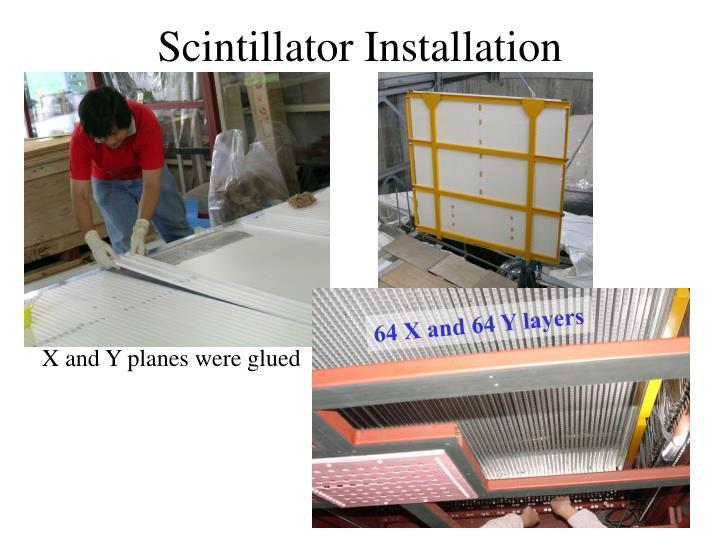 Scintillator Installation