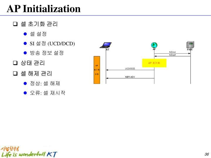 AP Initialization