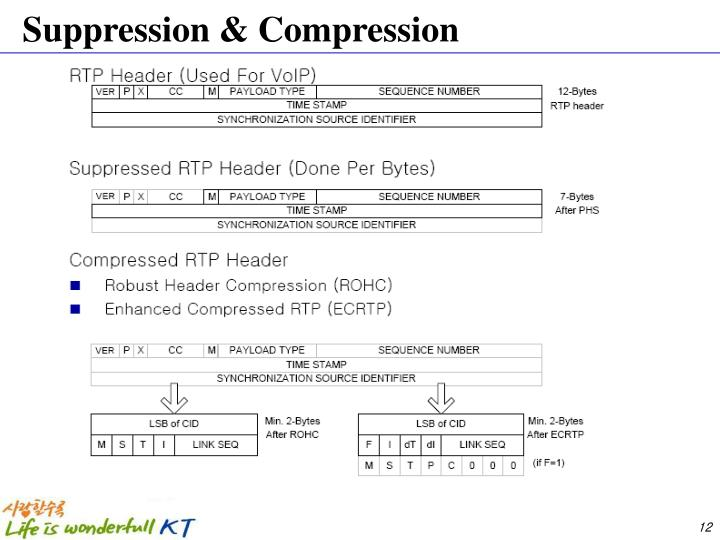 Suppression & Compression