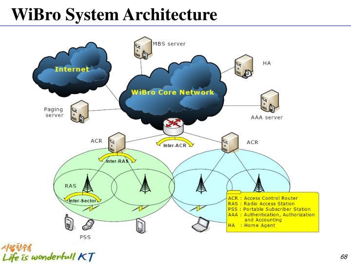 WiBro System Architecture