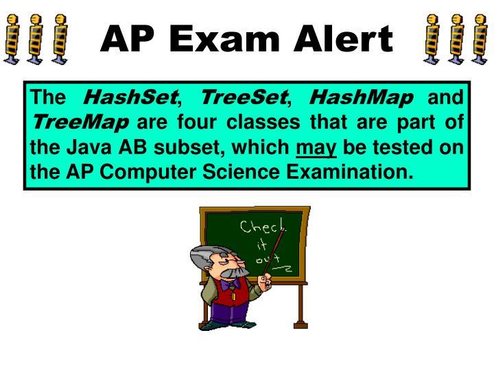 AP Exam Alert