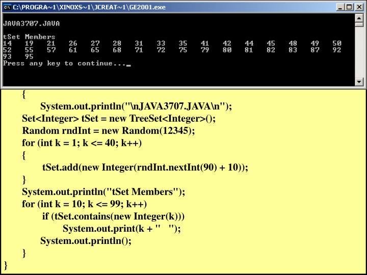 // Java3707.java
