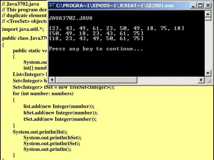 // Java3702.java