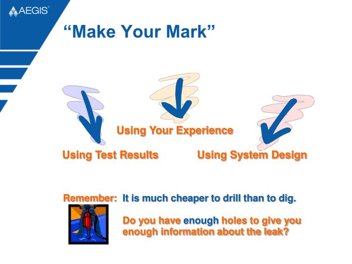 """Make Your Mark"""