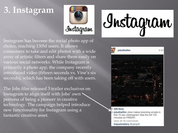 3. Instagram