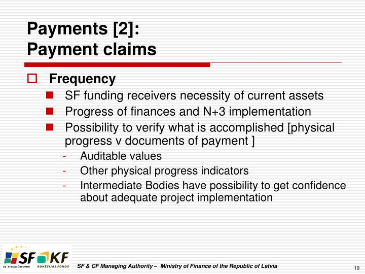 Payments [2]: