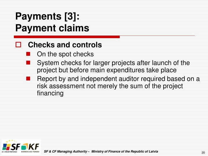 Payments [3]: