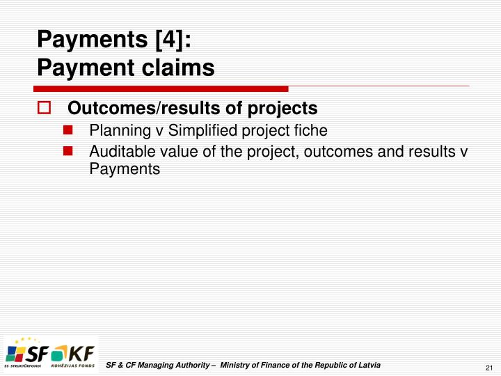 Payments [4]: