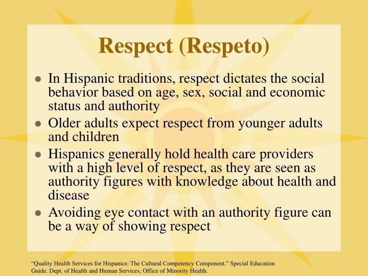 Respect (Respeto)