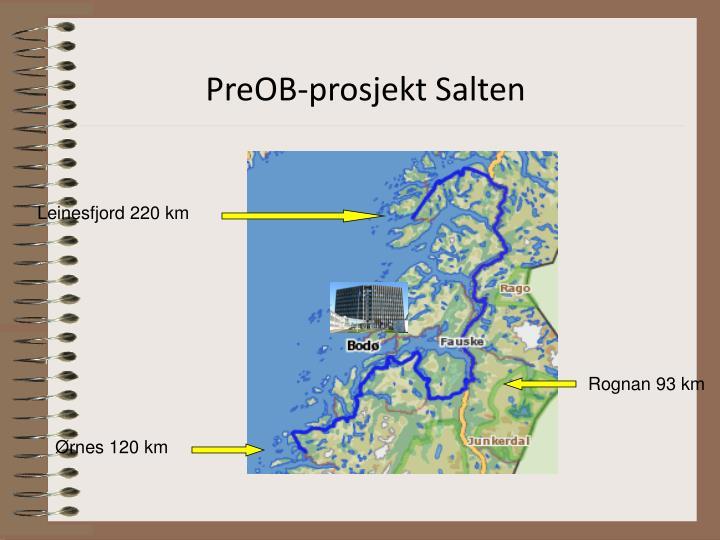 PreOB-prosjekt Salten
