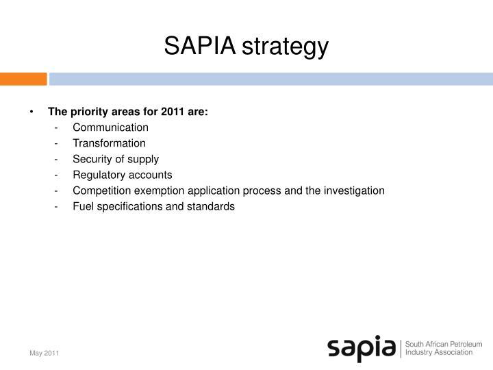 SAPIA strategy