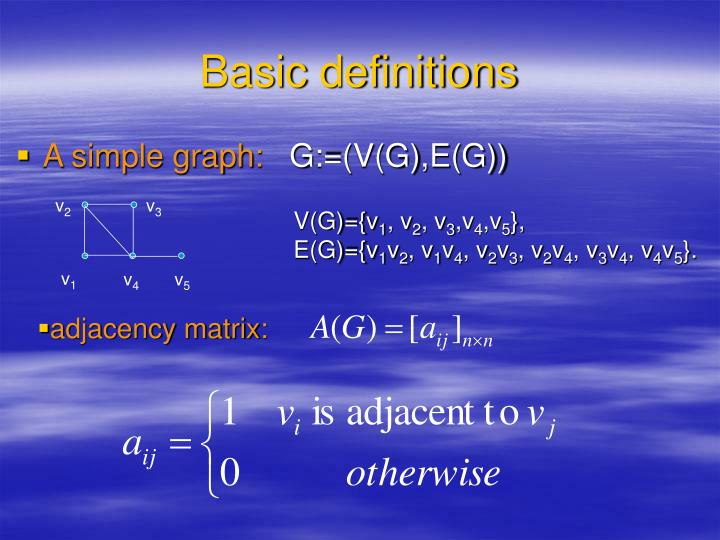 V(G)={v