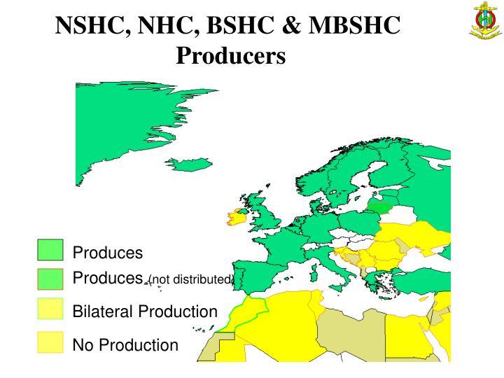 NSHC, NHC, BSHC & MBSHC