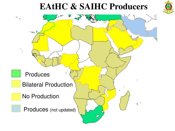EAtHC & SAIHC Producers