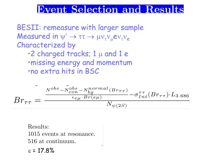 BESII: remeasure with larger sample