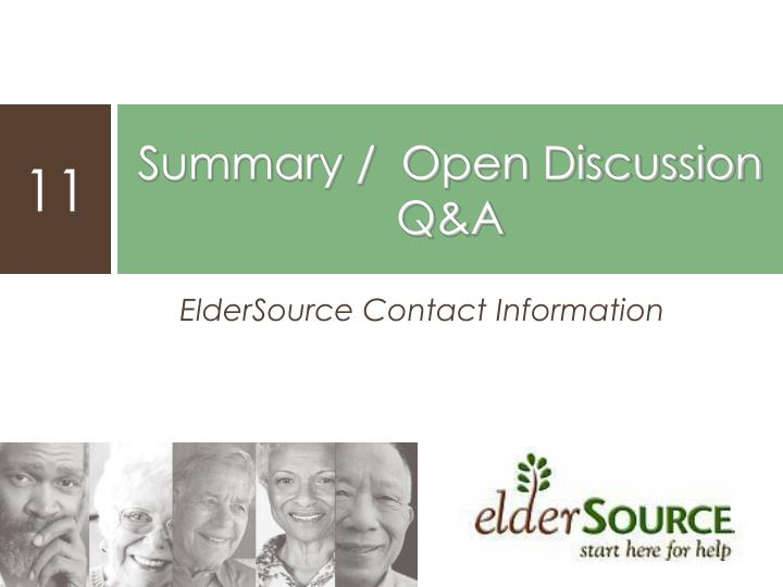 ElderSource Contact Information