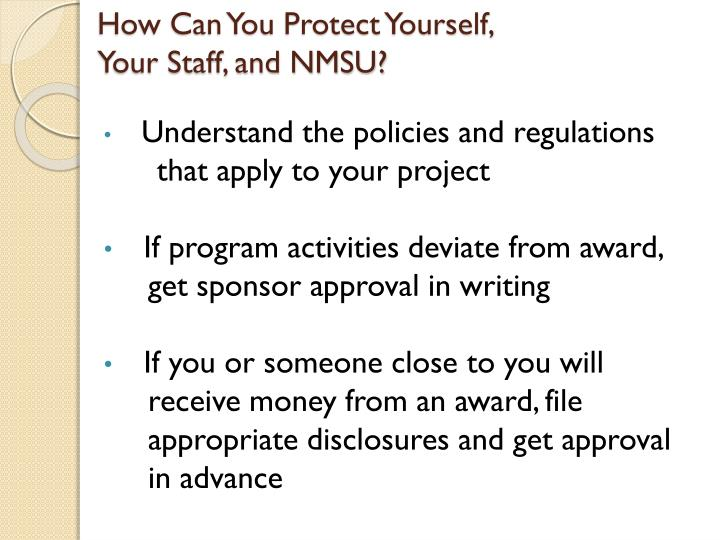 How Can You Protect Yourself,