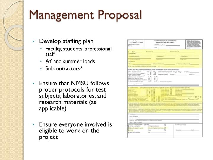 Management Proposal