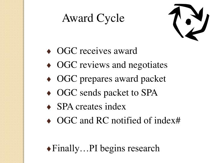Award Cycle