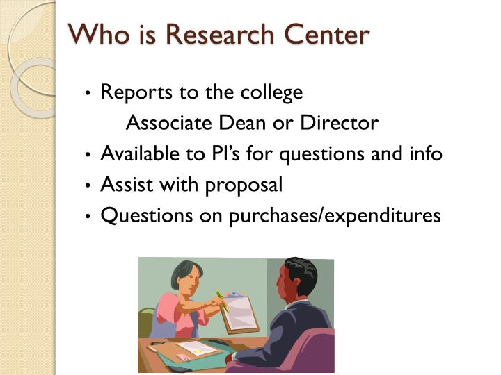 Who is Research Center