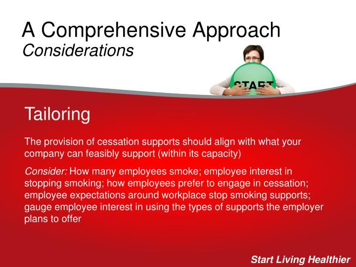 A Comprehensive Approach