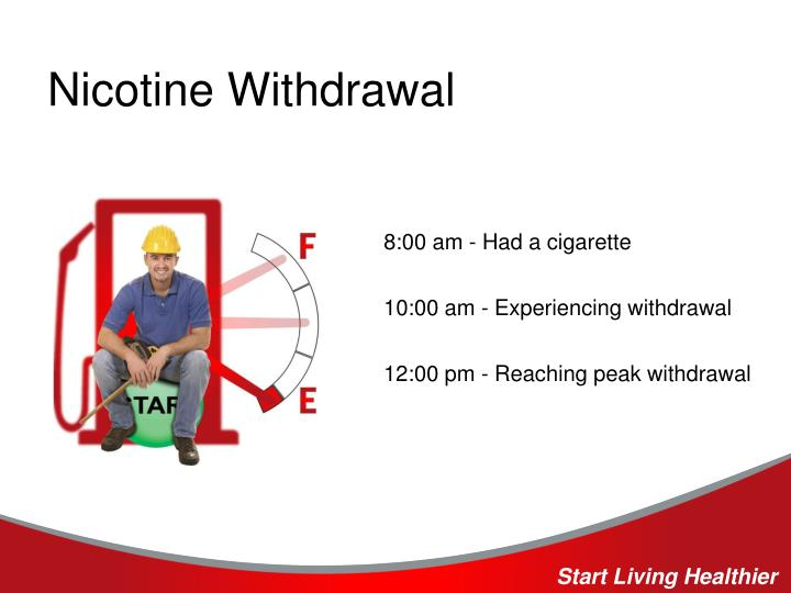 Nicotine Withdrawal