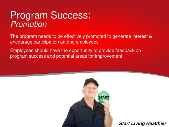 Program Success: