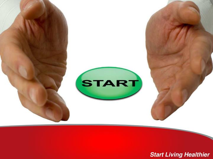 Start Living Healthier