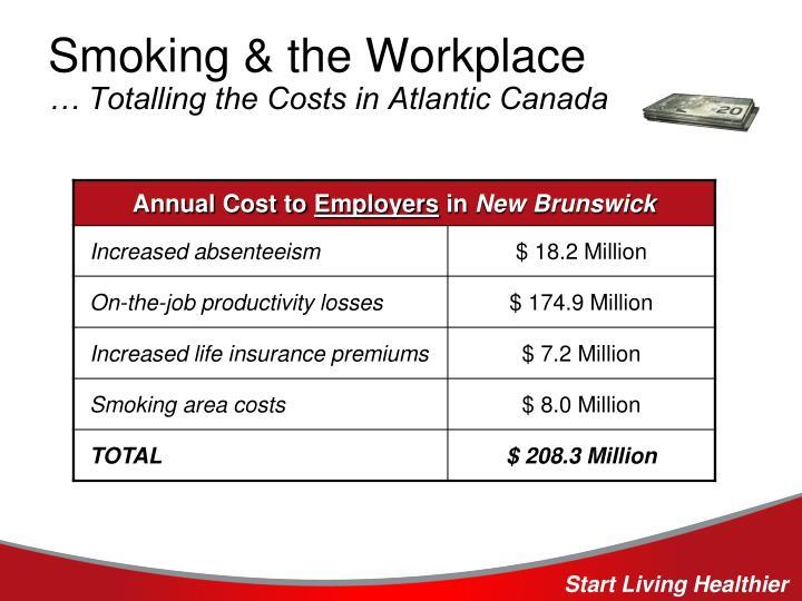 Smoking & the Workplace