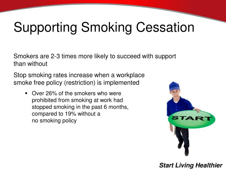Supporting Smoking Cessation