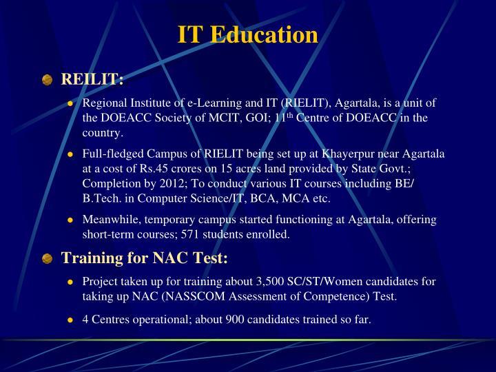 IT Education