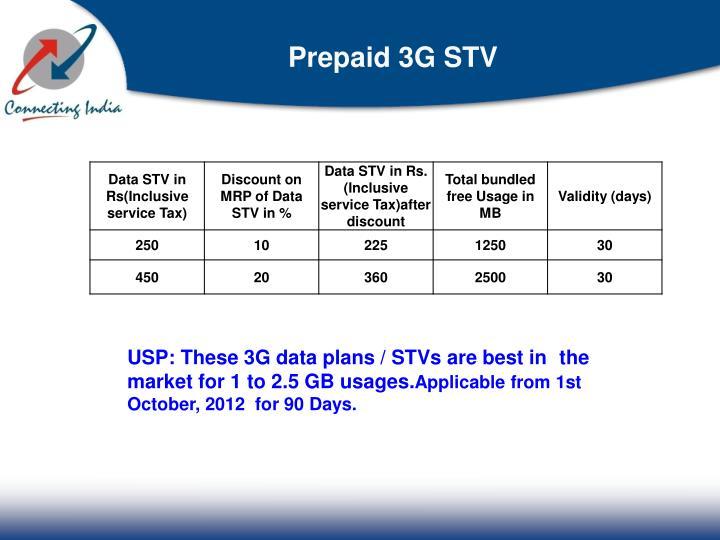 Prepaid 3G STV