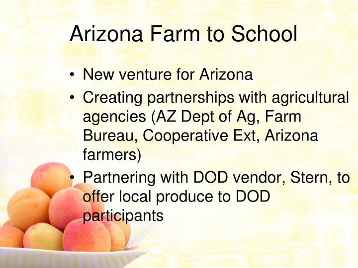 Arizona Farm to School