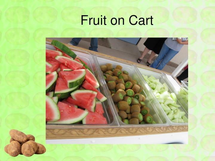 Fruit on Cart