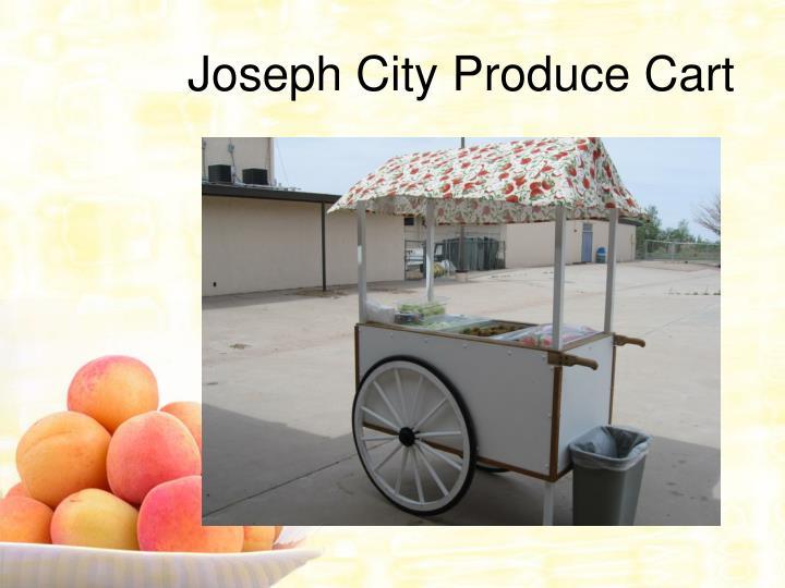 Joseph City Produce Cart