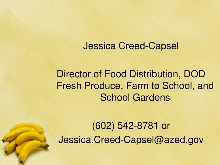 Jessica Creed-Capsel