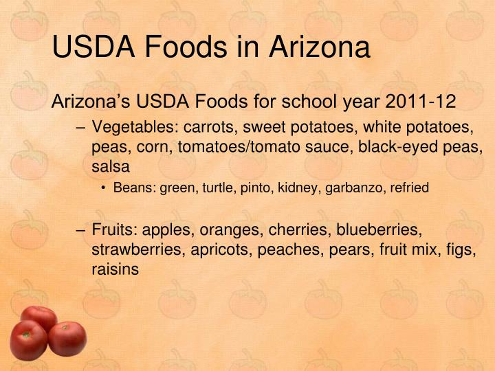 USDA Foods in Arizona