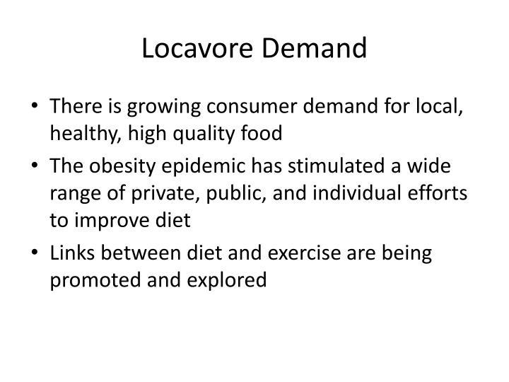 Locavore Demand