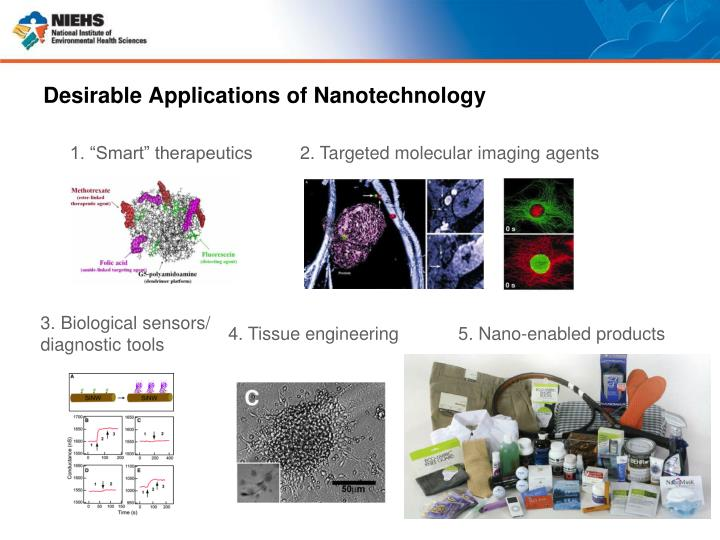 Desirable Applications of Nanotechnology