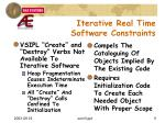 iterative real time software constraints