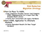 risk reduction migration strategy